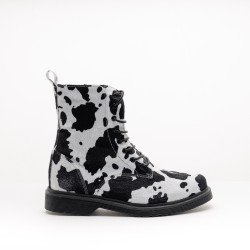 Cow Print Boots 418